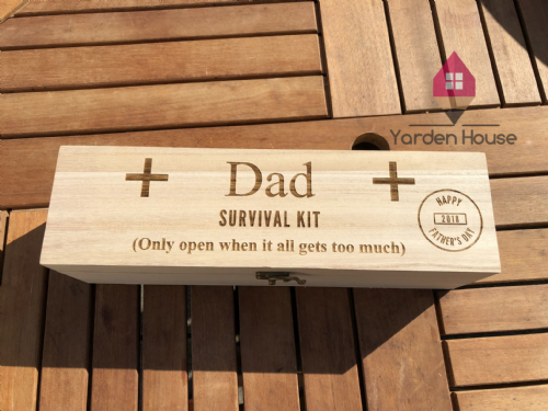 Survival Kit Wine Box